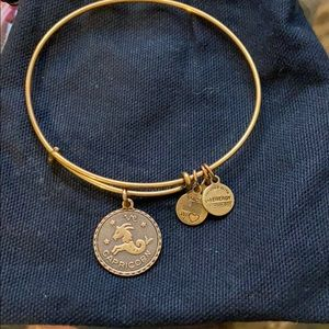 Alex and ani Capricorn gold